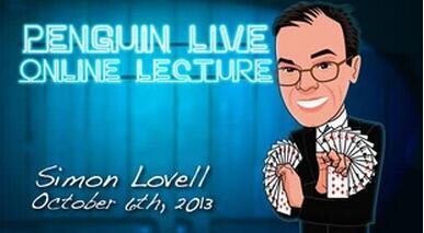 Simon Lovell LIVE Penguin LIVE