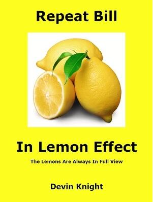 Repeat Bill in Lemon Effect by Devin Knight