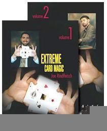 Extreme Card Magic by Joe Rindfleisch 2 Volume set