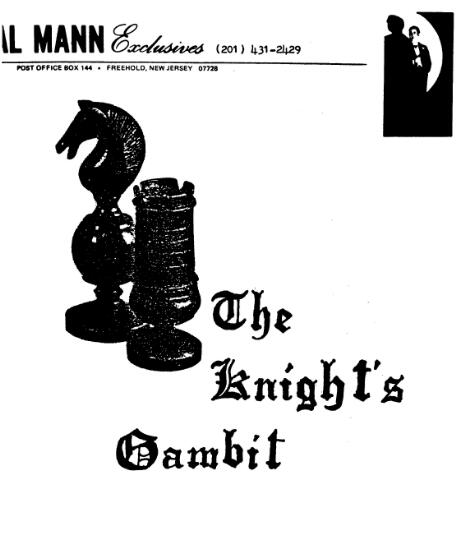 Knights gambit by Al mann