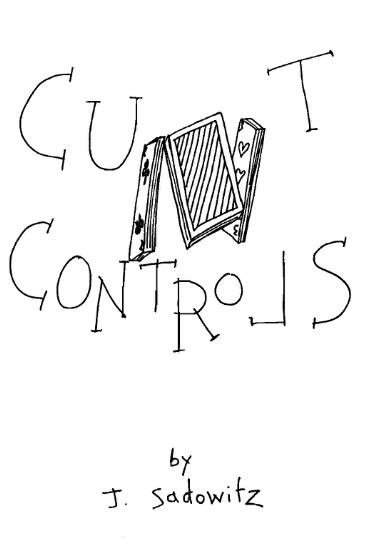 Cut Controls by Jerry Sadowitz