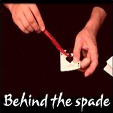 Behind the Spade by Mathieu Bich