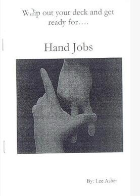 Hand Jobs by Lee Asher
