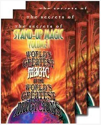 Stand Up Magic by World's Greatest Magic 3 Volumes set