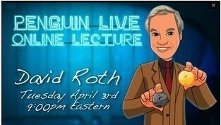 David Roth LIVE Penguin LIVE