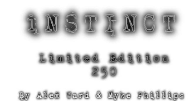 Instinct by Alex Ward & Myke Phillips