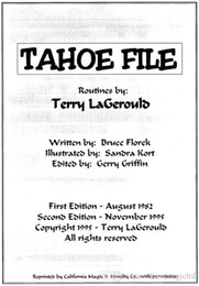 Tahoe File by Terry Lagerould