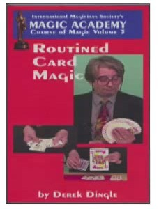 Routined Card Magic by Derek Dingle