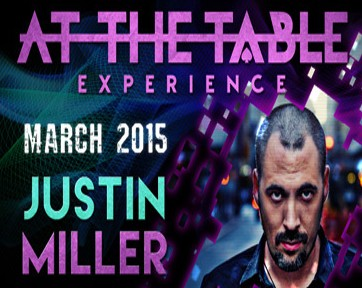At the Table Live Lecture by Justin Miller