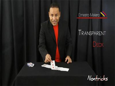 Transparent Deck by Ernesto Melero