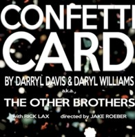 Confetti Card by Darryl Davis & DaryI Williams a.k.a. The Other Brothers Instant Download