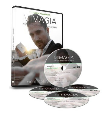 Mi Magia by Miquel Roman 4DVD sets  New hot!! original price 397EUR