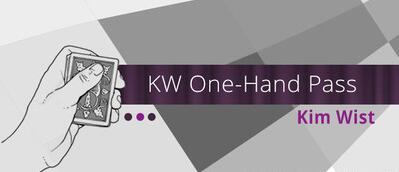 KW One Hand Pass by Kim Wist