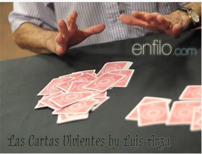 Las Cartas Vivientes by Luis Arza