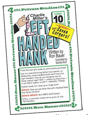 Ron Bauer 10 Left Handed Hank