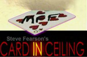 Card in Ceiling by Steve Fearson