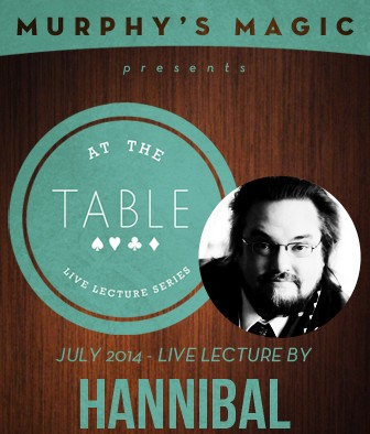 At the Table Live Lecture by Chris Hannibal