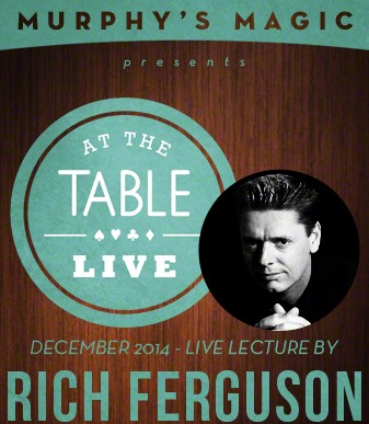 At the Table Live Lecture by Rich Ferguson