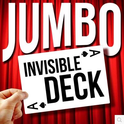 Jumbo Invisible Deck by Dan Harlan