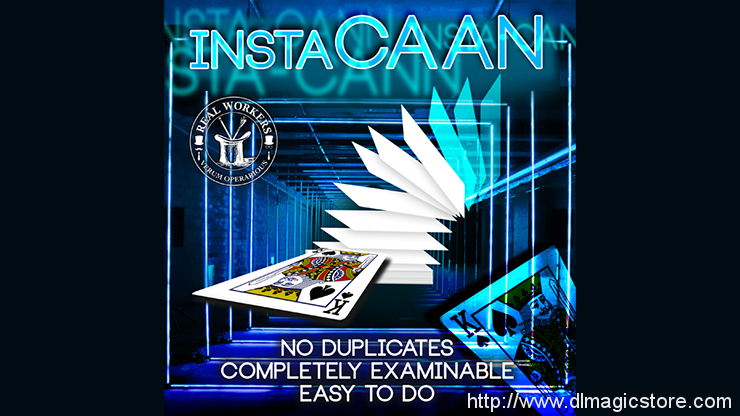 instaCAAN by Joel Dickenson (Gimmick Not included)