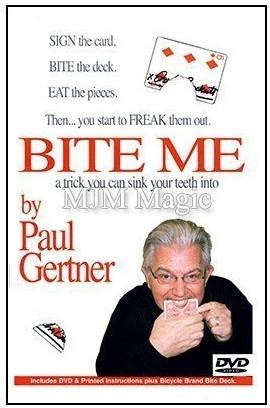Bite Me by Paul Gertner