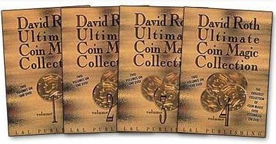 Ultimate Coin Magic Collection David Roth 4 Volume Set