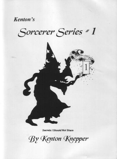 Sorcerer Series 1 by Kenton Knepper