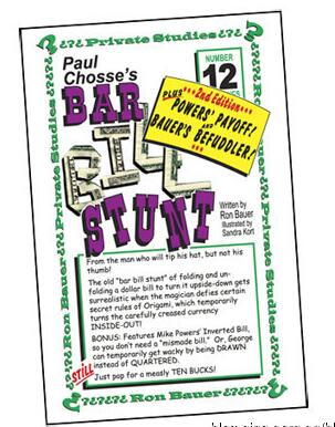 12 Bar Bill Stunt by Ron Bauer