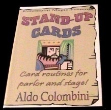 Stand Up Cards by Aldo Colombini
