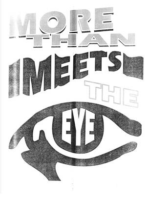 More Than Meets The Eye by Dan Harlan