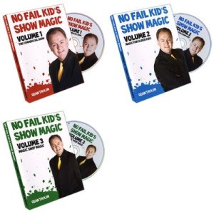 No Fail Kid's Magic by Sean Taylor 3 Volume set