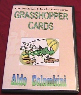 GRASSHOPPER CARDS by Aldo Colombini