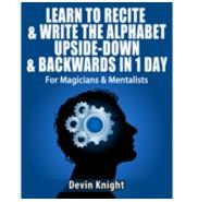 Alphabet In Reverse by Devin Knight