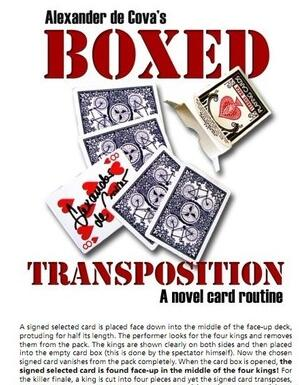Boxed Transposition by Alexander de Cova