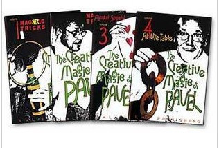 The Creative Magic of Pavel by Pavel 4 Volume set