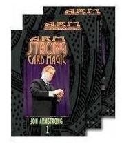 Card Magic by Jon Armstrong 3 Volume set