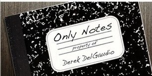 Only Notes By Derek DelGaudio
