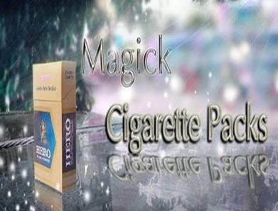 Magic Cigarette Packs by Hoang Sam