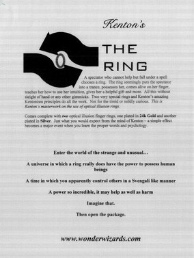 The Ring by Kenton Knepper
