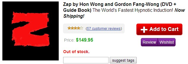 Zap by Hon Wong and Gordon Fang Wong