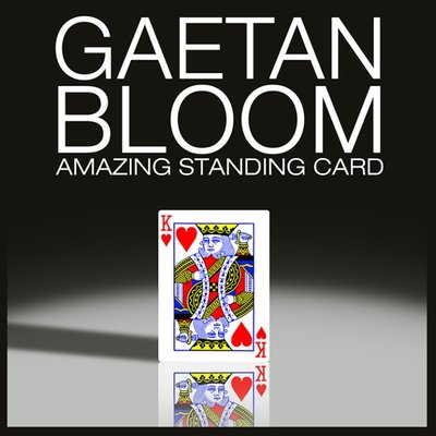 Amazing Standing Card by Gaetan Bloom