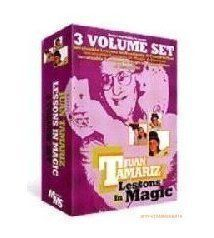 Lessons in Magic by Juan Tamariz 3 Volume set