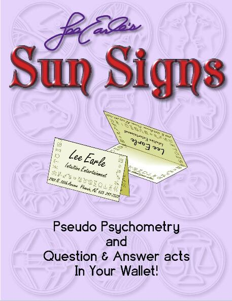 Sun Signs by Lee Earle