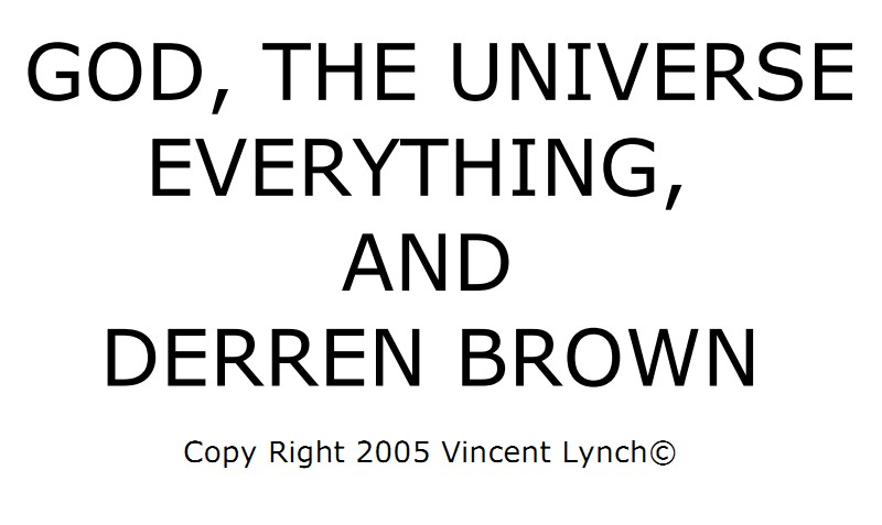 God The Universe Everything and Derren Brown