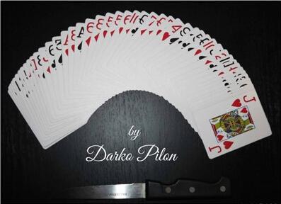 Card and Knife by Darko Pilon