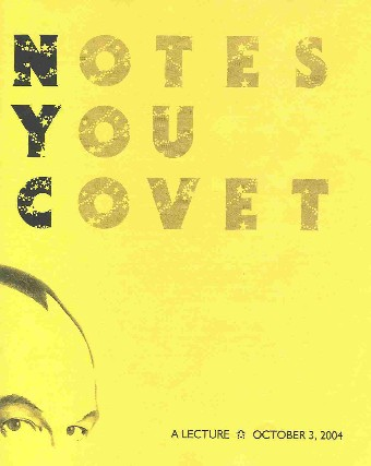 Notes You Covet by Max Maven