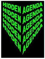 Hidden Agenda by Peter Duffie