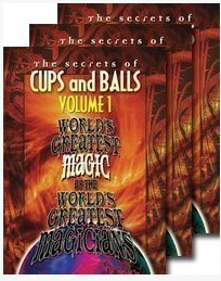 Cups And Balls by World's Greatest Magic 3 Volume set