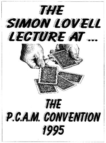 PCAM 1995 by Simon Lovell