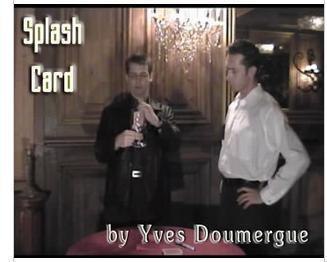 Splash Card by Yves Doumergue